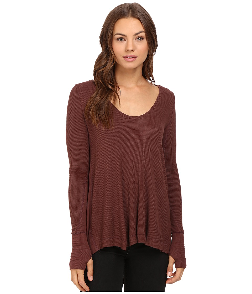 Free People - Malibu Thermal (Brown) Women's Clothing
