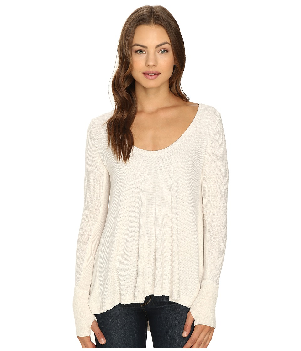 Free People - Malibu Thermal (Taupe) Women's Clothing