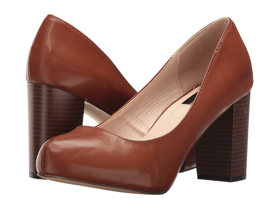 LFL by Lust For Life - Paige (Cognac Nappa PU) High Heels