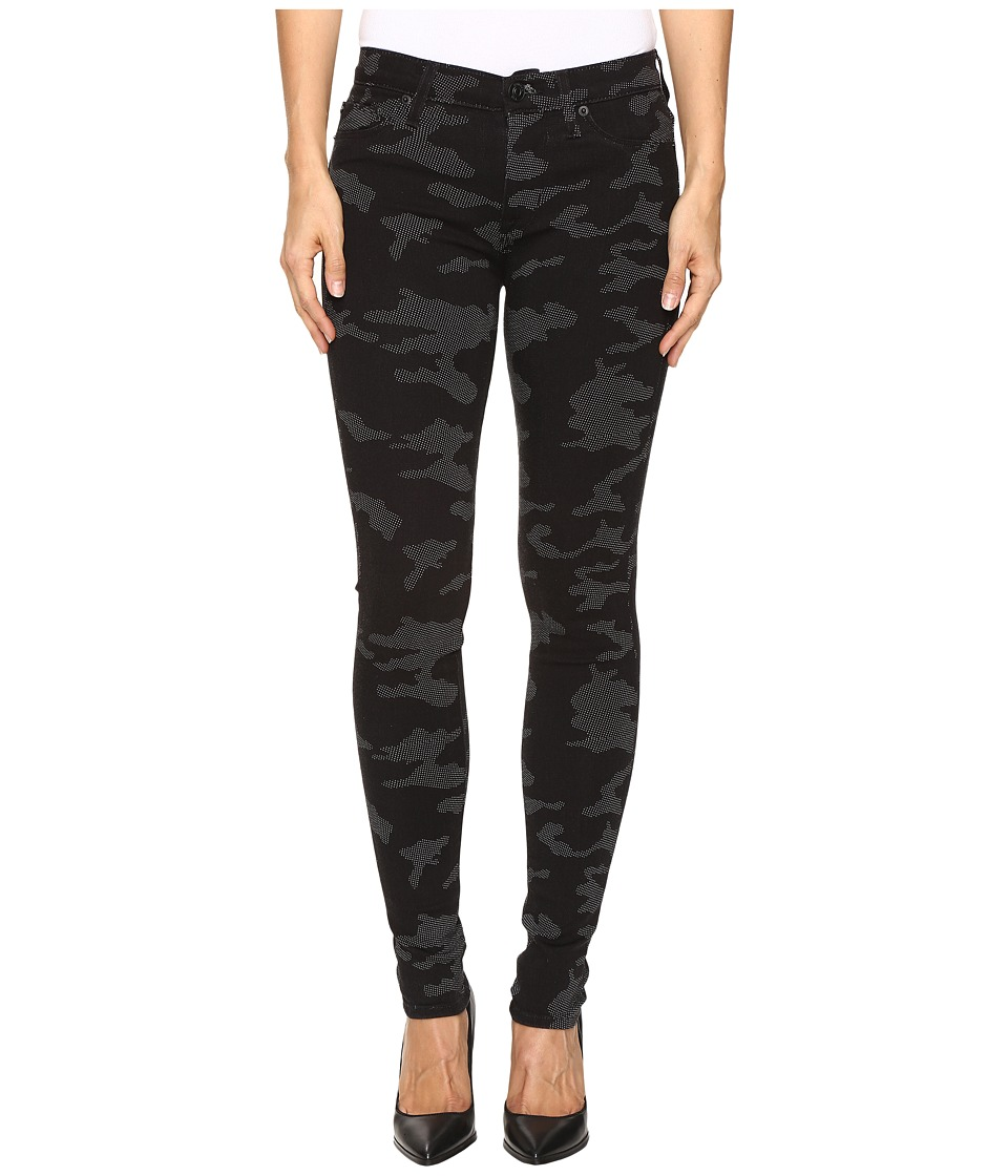 Hudson - Nico Mid-Rise Skinny in Blackout Camo (Blackout Camo) Women's Jeans