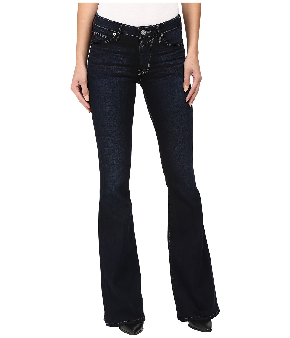 Hudson - Mia Five-Pocket Mid-Rise Flare in Night Vision (Night Vision) Women's Jeans