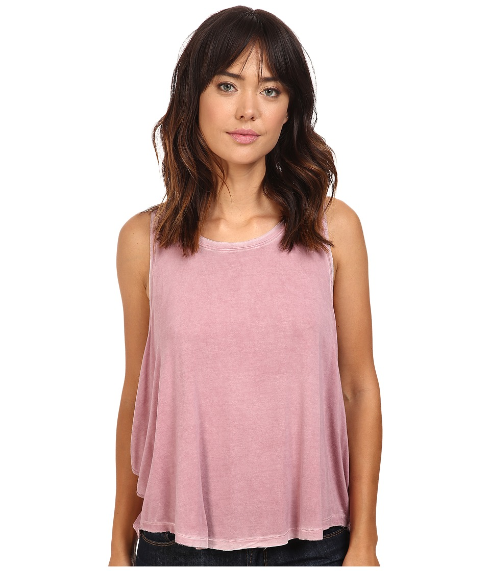Free People - Little Rock Tank Top (Rose) Women's Sleeveless