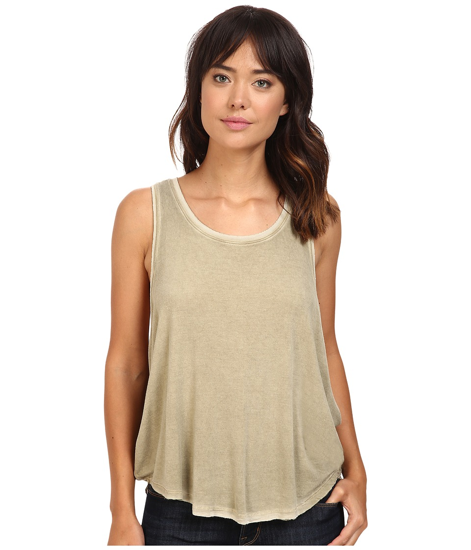 Free People - Little Rock Tank Top (Olive) Women's Sleeveless