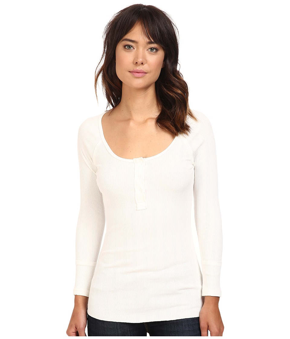 Free People - Jill Henley (Ivory) Women's Clothing