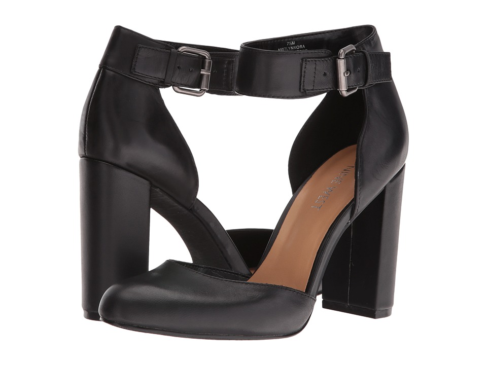 Nine West - Lynnora (Black Leather) Women's Shoes