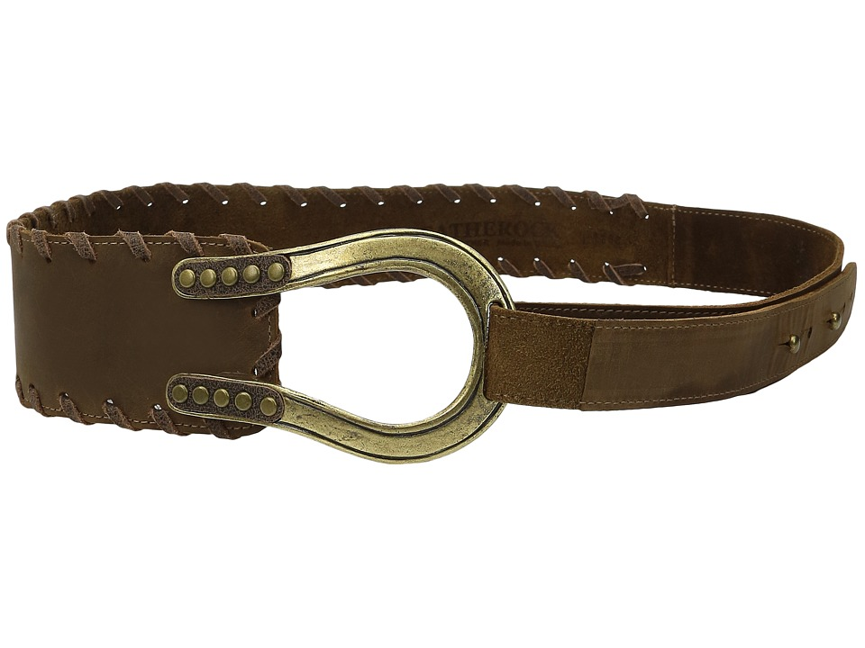 Leatherock - 1668 (Rough Brown) Women's Belts