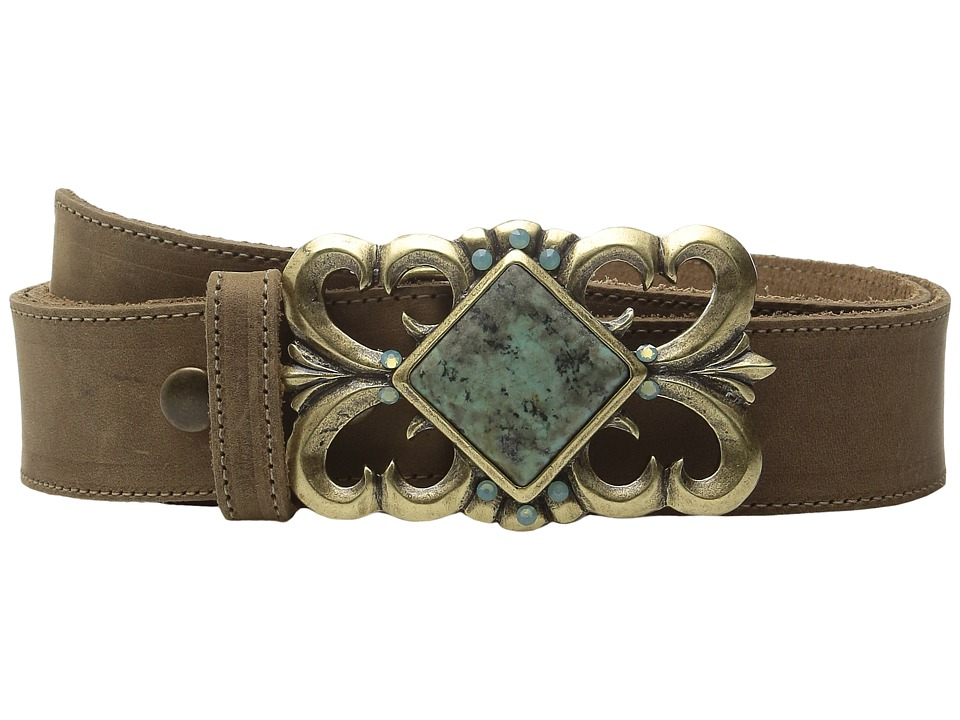 Leatherock - 1665 (Rough Brown) Women's Belts