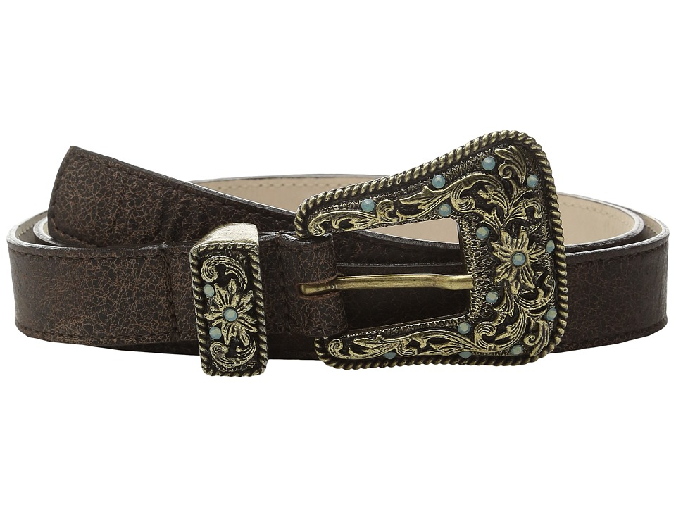 Leatherock - 1688 (Bomber Chocolate) Women's Belts