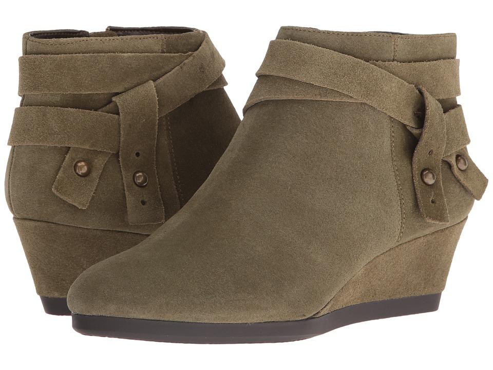 Nine West - Lina (Dark Green Suede) Women's Boots