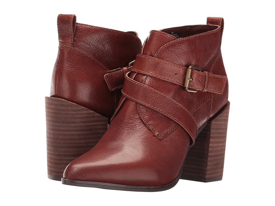 Nine West - Kelela (Brown Leather) Women's Boots