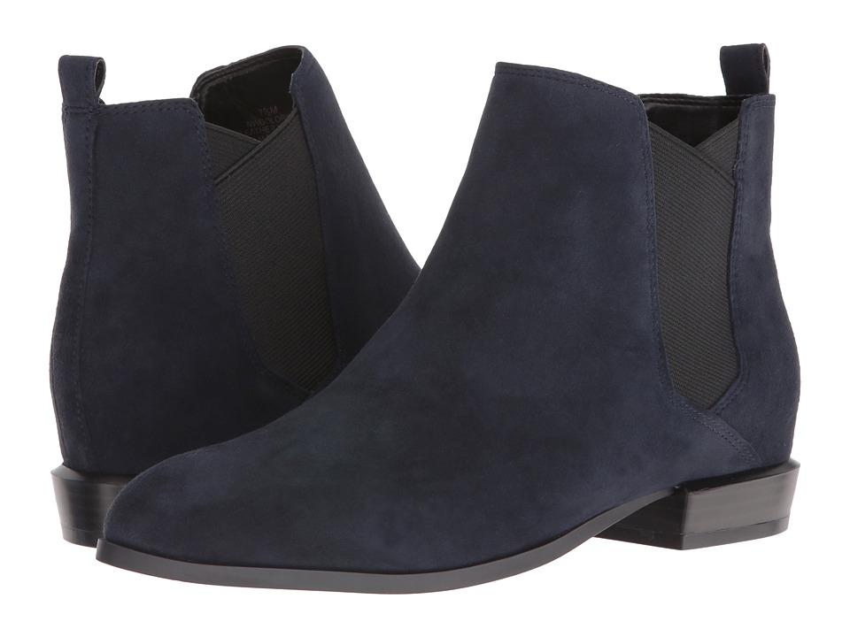 Nine West - Doloris (Navy Suede) Women's Shoes