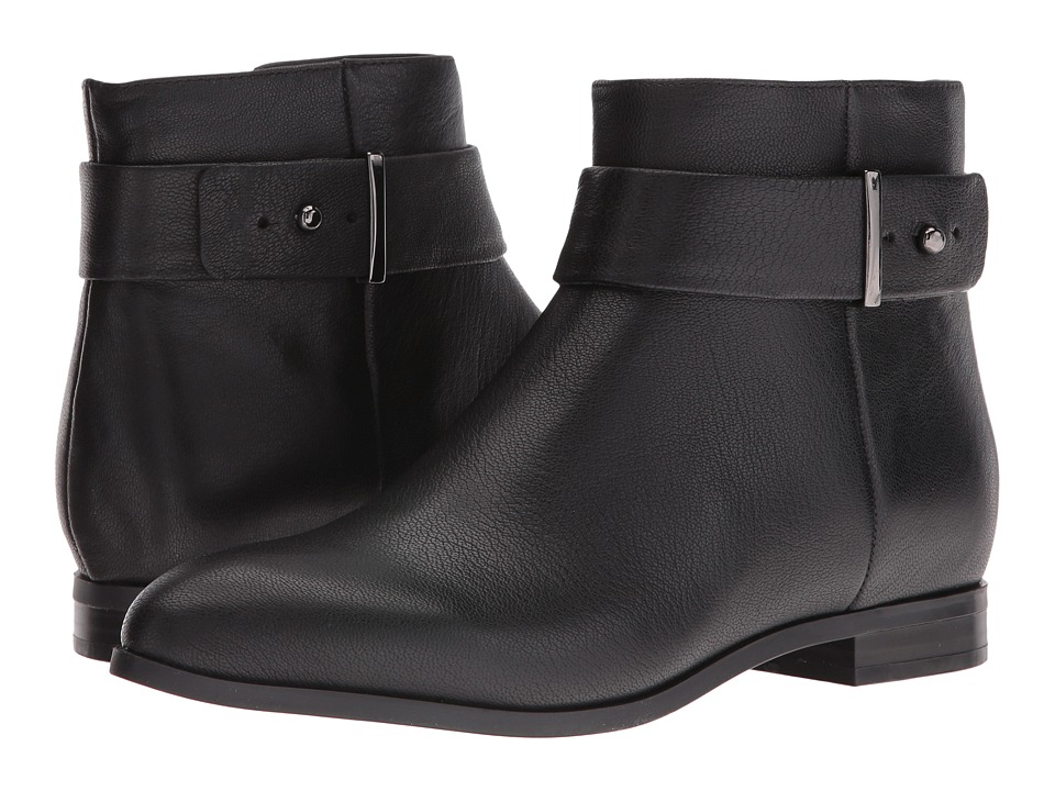 Nine West Objective (Black Leather) Women