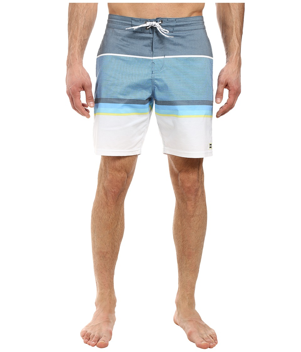 Billabong Spinner Lo Tides 19 Boardshorts (Indigo) Men