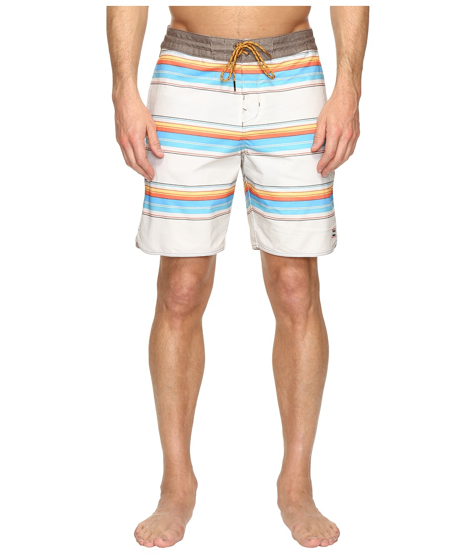 Billabong - Tribong Scallop Lo Tides 19 Boardshorts (Sand) Men's Swimwear