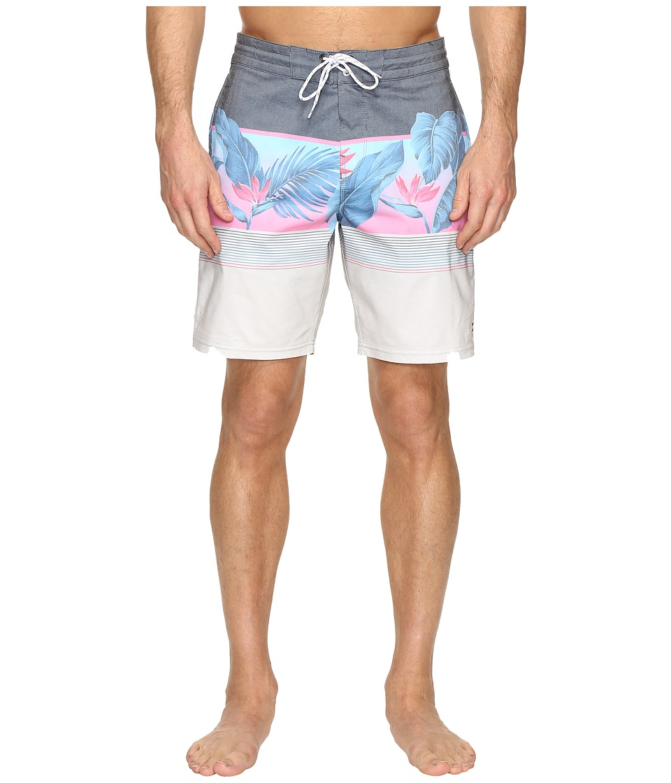 Billabong - Spinner Vice Lo Tides 19 Boardshorts (Blue) Men's Swimwear