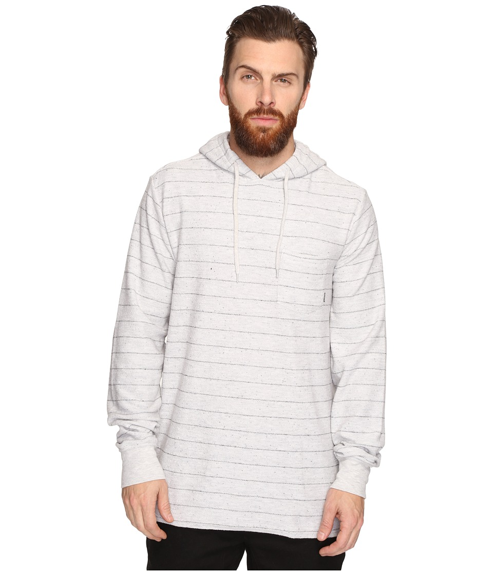 Billabong - Flecker Pullover French Terry Hoodie (Light Grey Heather) Men's Sweatshirt