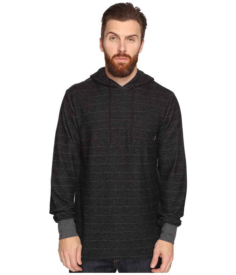 Billabong - Flecker Pullover French Terry Hoodie (Black Heather) Men's Sweatshirt