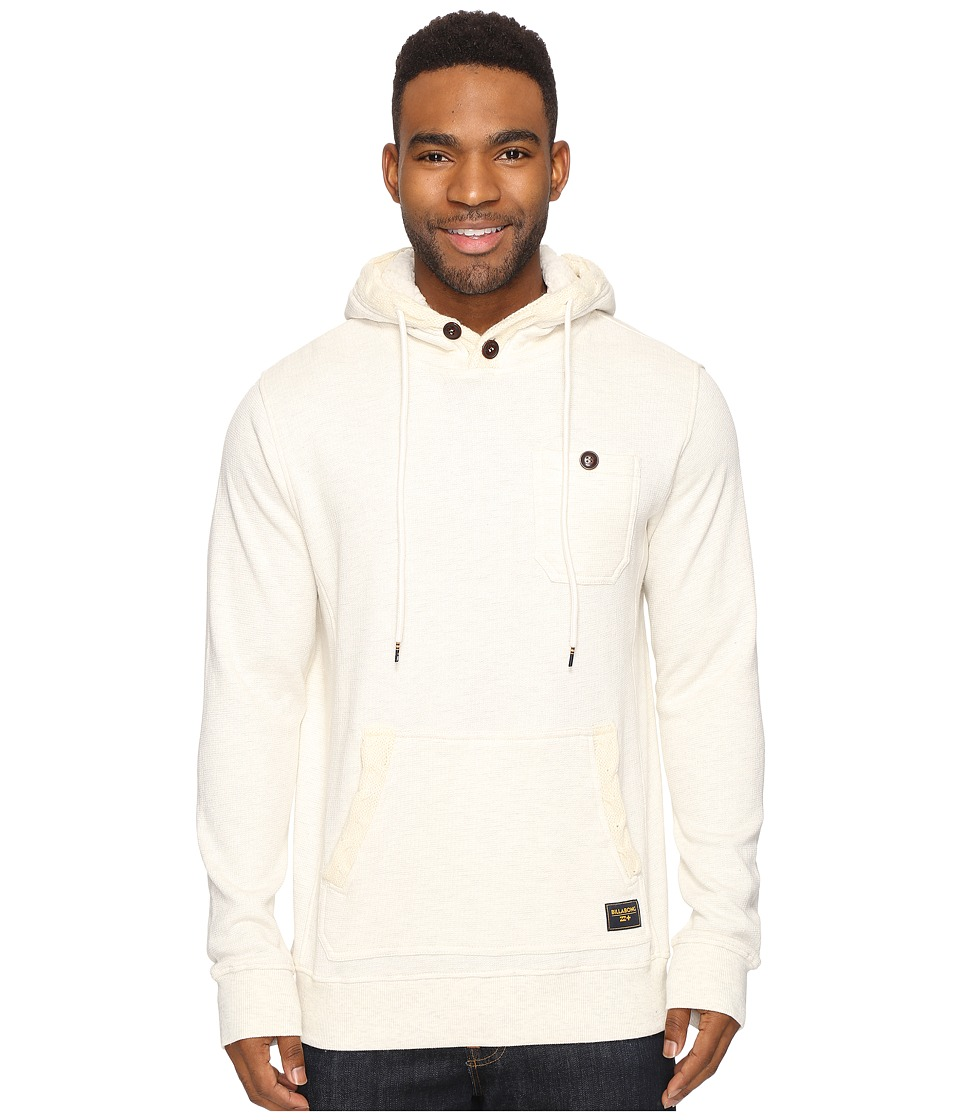Billabong - Rasta Cable Sherpa Lined Hoodie (Oatmeal) Men's Sweatshirt