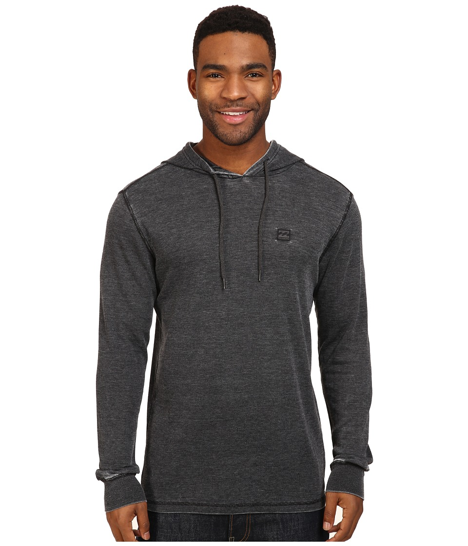 Billabong - Keystone Pullover Thermal Hoodie (Black) Men's Sweatshirt