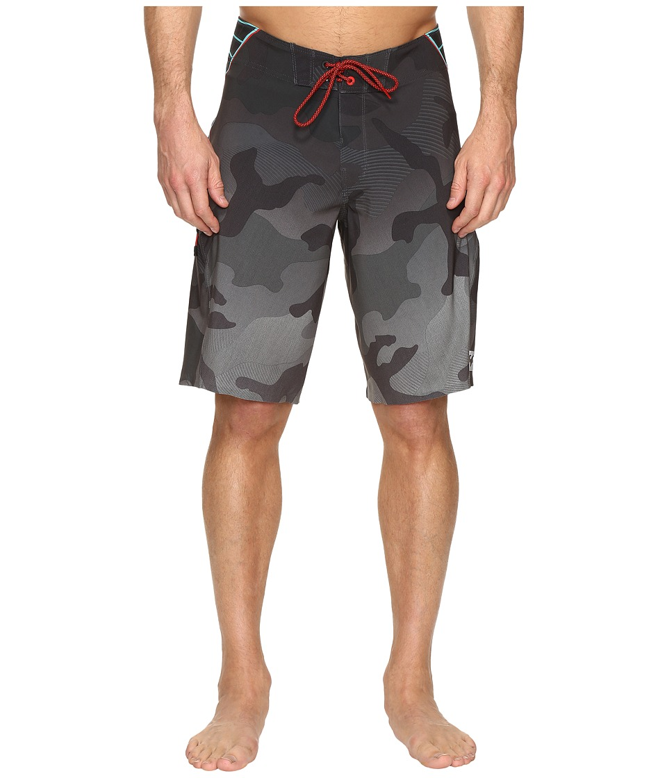 Billabong - Fluid X 21 Boardshorts (Charcoal) Men's Swimwear