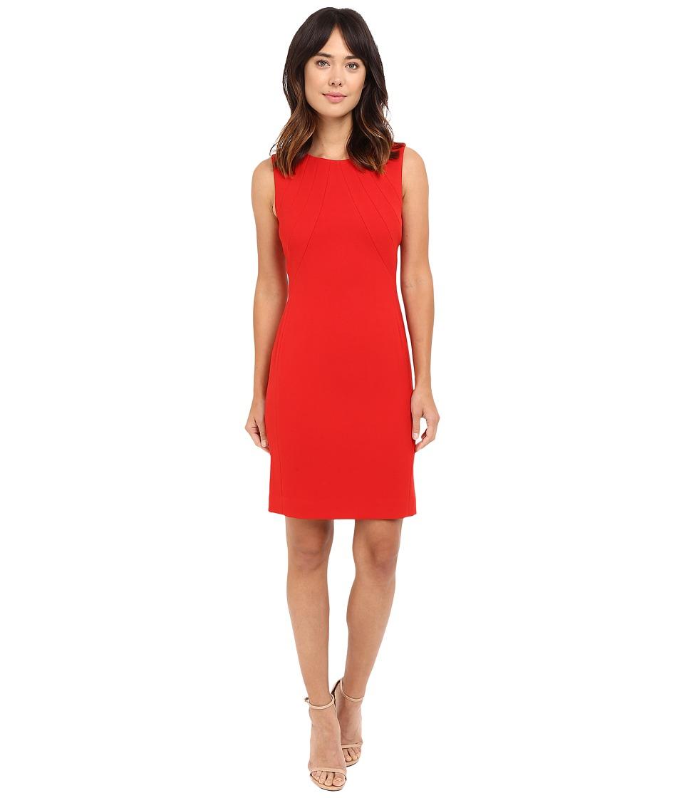 Tahari by ASL - Sheath Dress (Crimson) Women's Dress