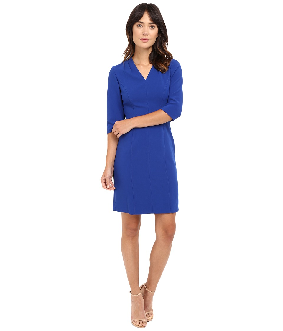 Tahari by ASL - Sleeved Sheath Dress (Iris) Women's Dress