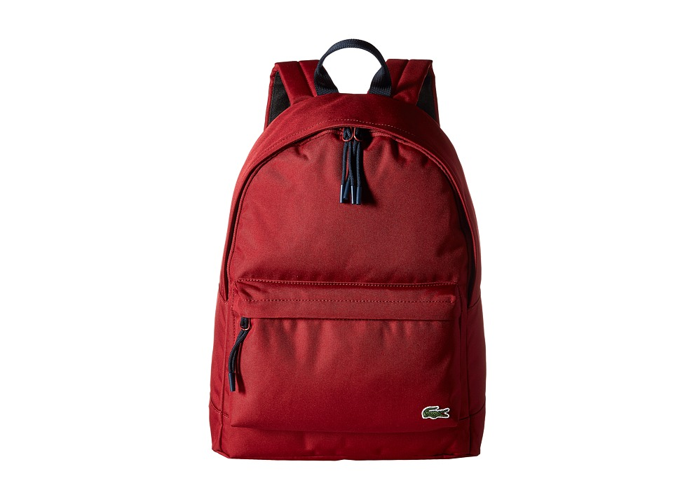 Lacoste Neocroc Backpack (Rio Red) Backpack Bags