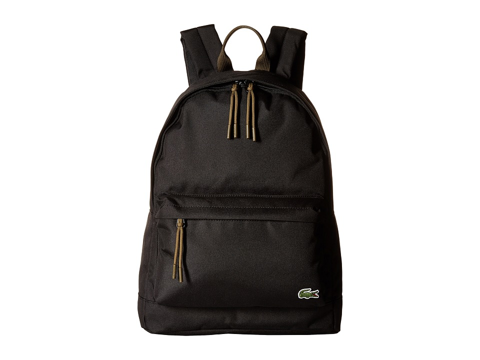 Lacoste - Neocroc Backpack (Black) Backpack Bags