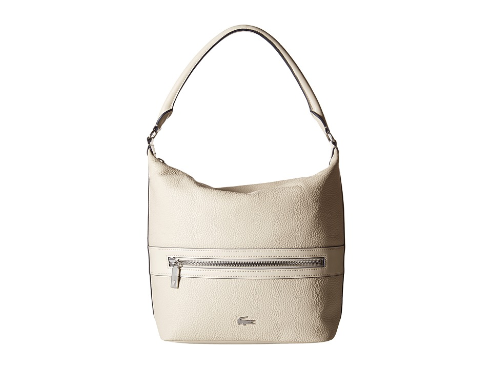 Lacoste - Renee Hobo Bag (Birch) Hobo Handbags