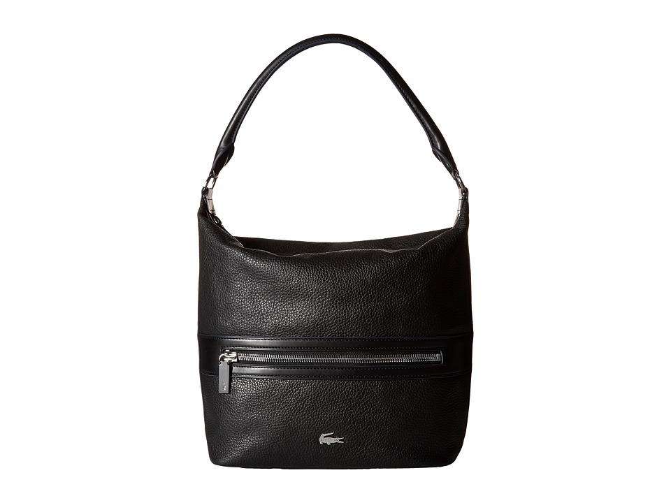 Lacoste - Renee Hobo Bag (Black) Hobo Handbags