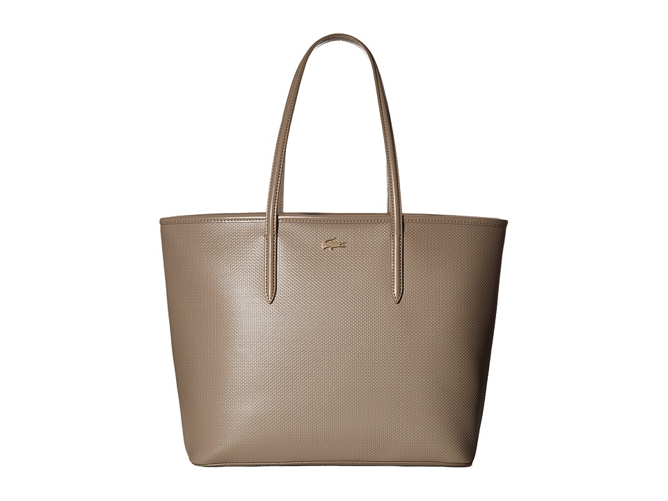 Lacoste - Chantaco Medium Tote (Timber Wolf) Tote Handbags