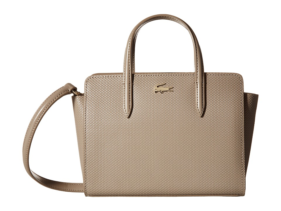 Lacoste - XS Shopping Bag (Timber Wolf) Tote Handbags