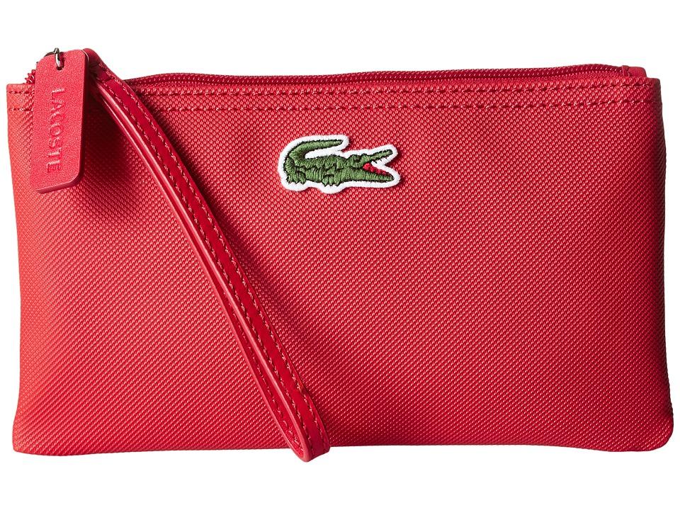 Lacoste - L1212 Wristlet (Salsa) Clutch Handbags