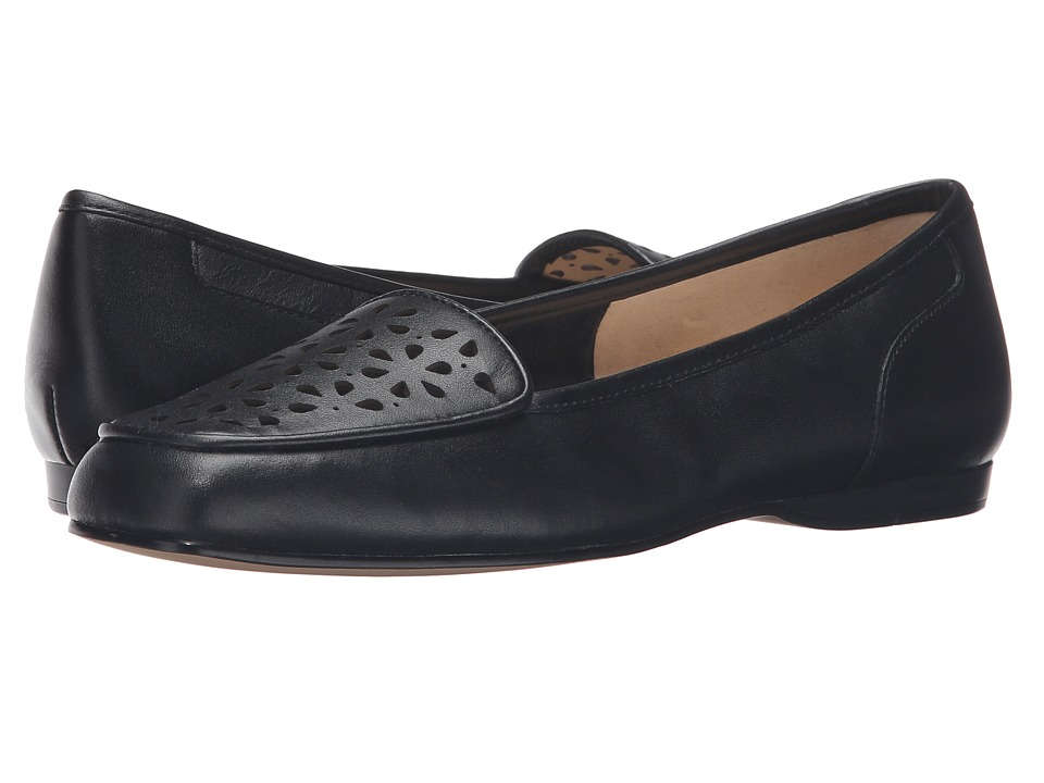 Bandolino - Lanelle (Black Leather) Women's Slip on Shoes