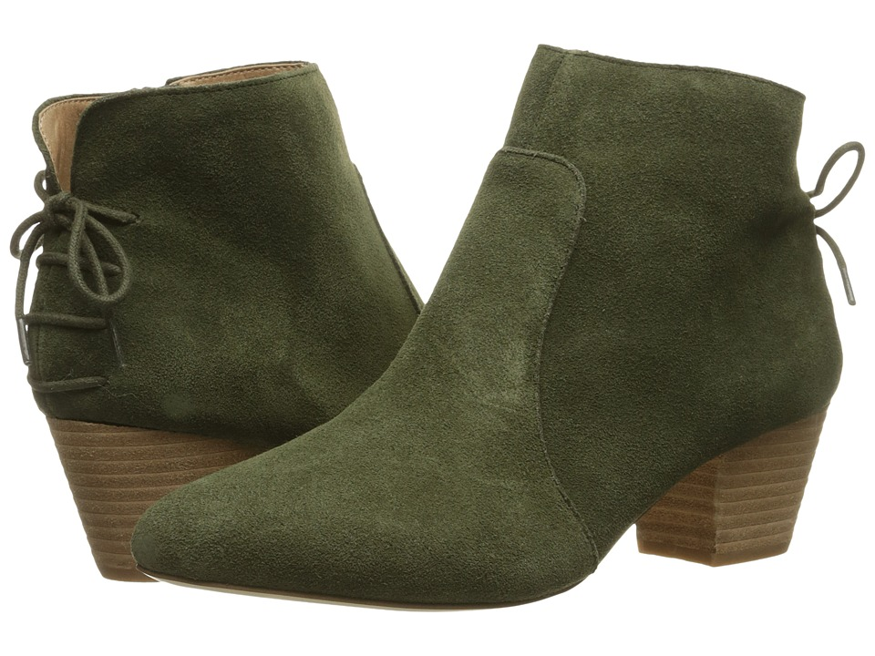 Tahari Charles (Olive Cow Suede) Women