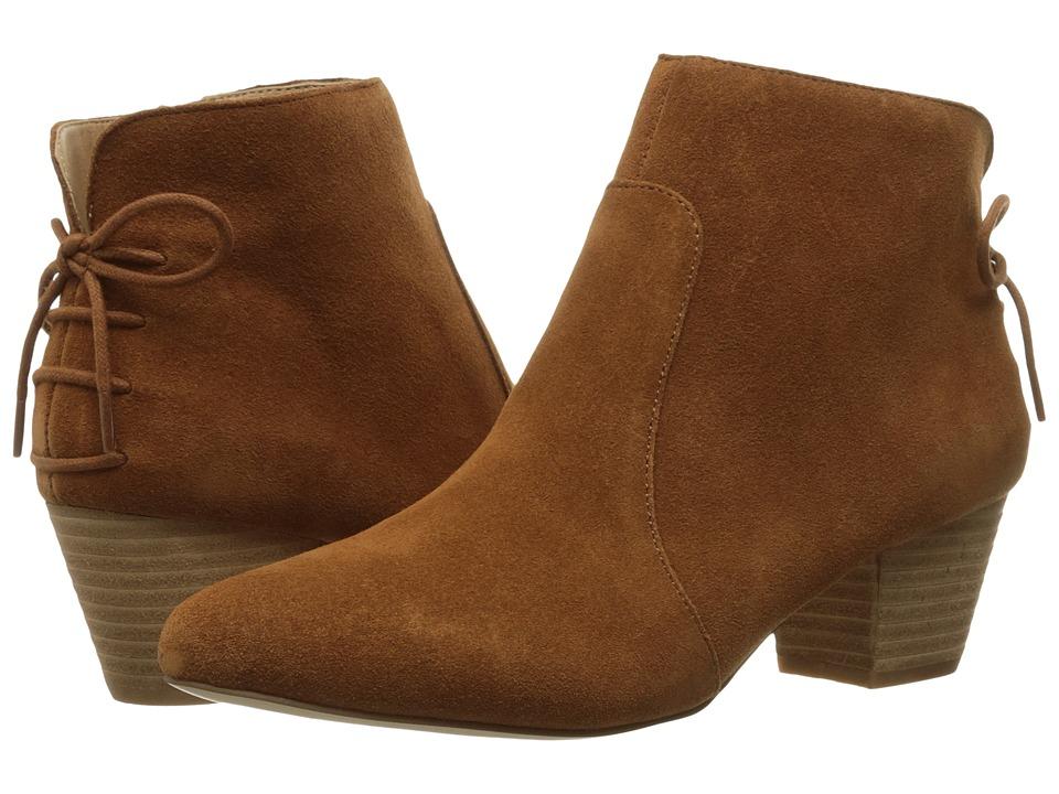 Tahari - Charles (Rust Cow Suede) Women's Shoes