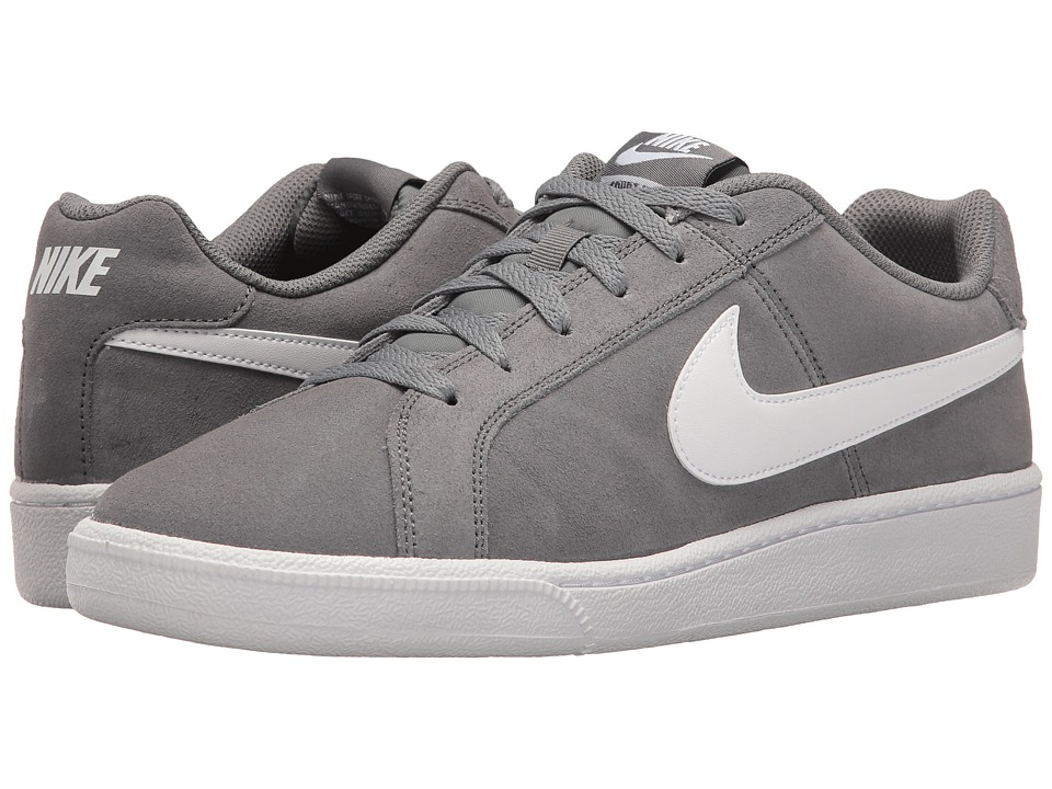 Nike - Court Royale Suede (Cool Grey/White) Men's Shoes