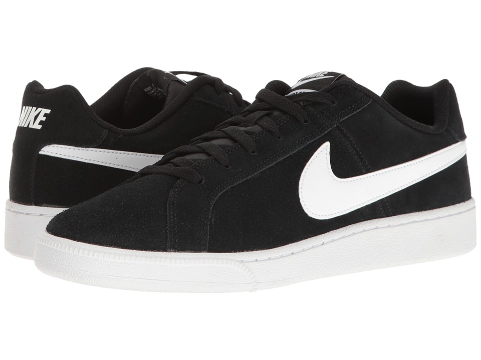 Nike - Court Royale Suede (Black/White) Men's Shoes