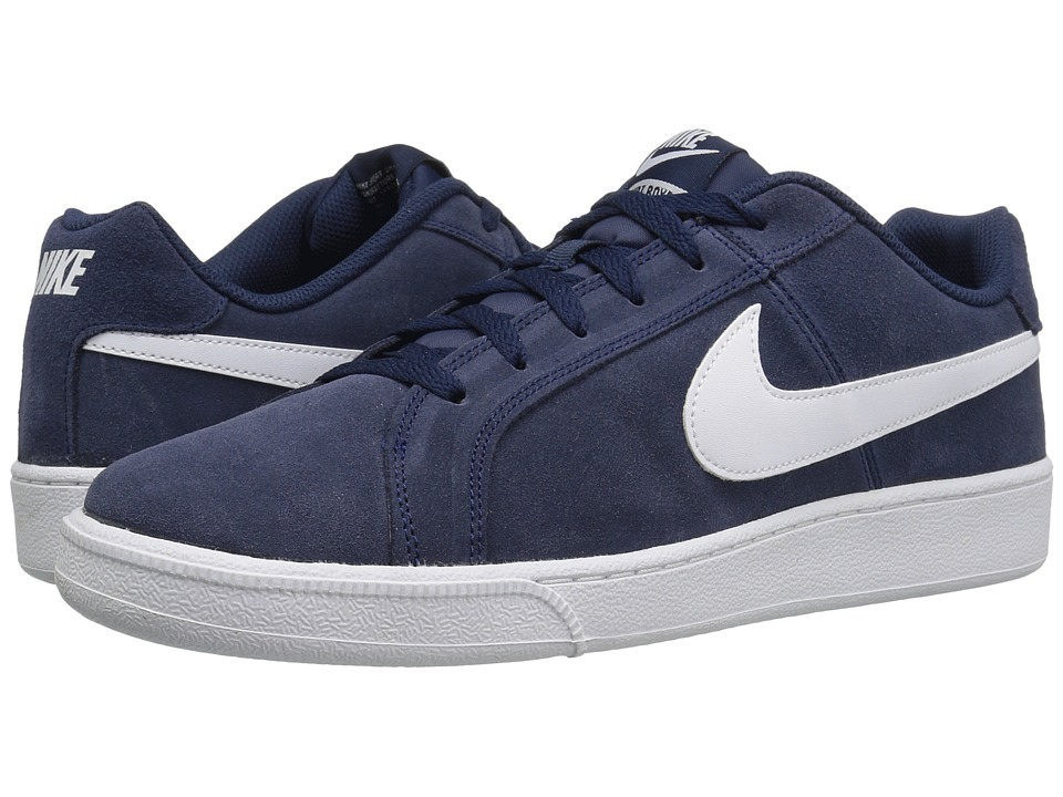 Nike - Court Royale Suede (Midnight Navy/White) Men's Shoes