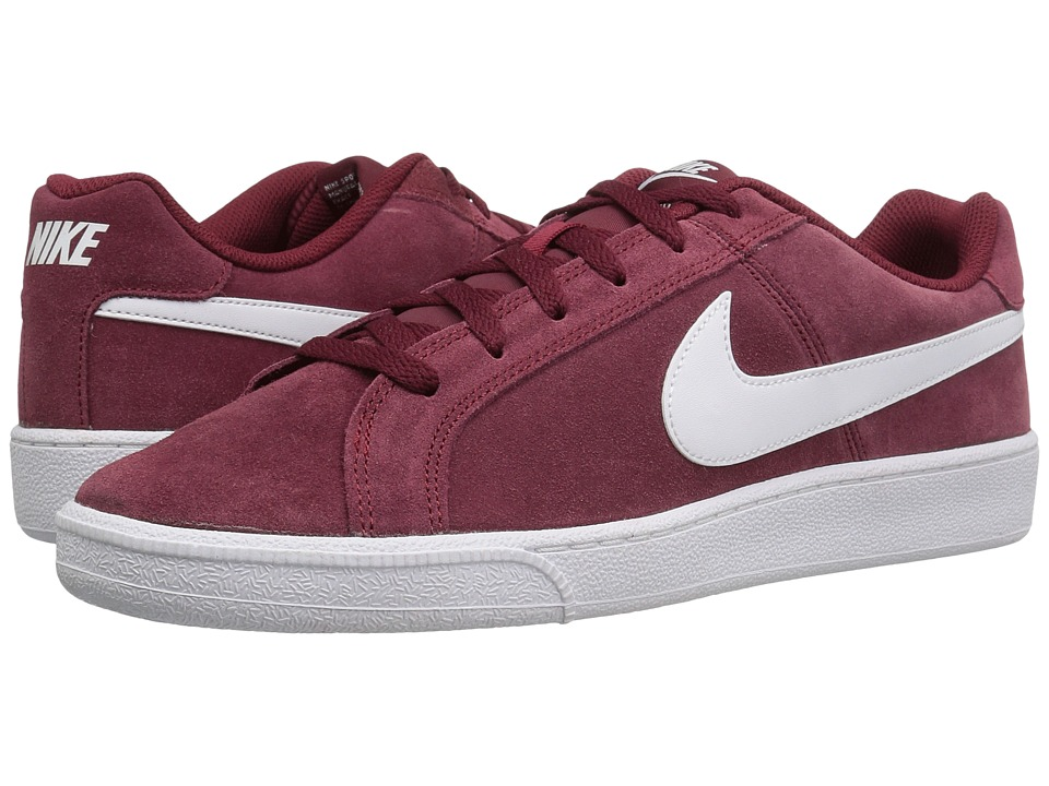 Nike - Court Royale Suede (Team Red/White) Men's Shoes