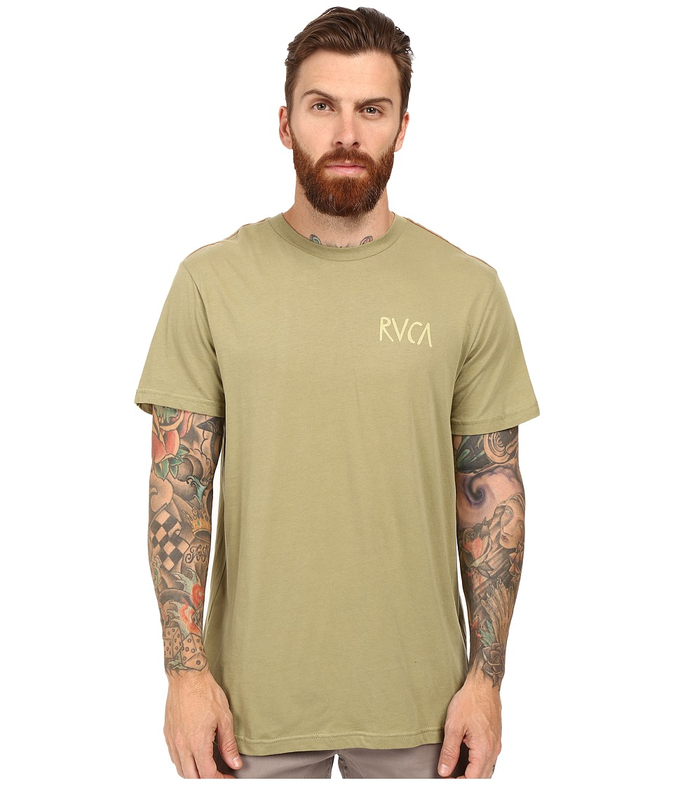 RVCA - Flip Flop Box T-Shirt (Cadet Green) Men's T Shirt