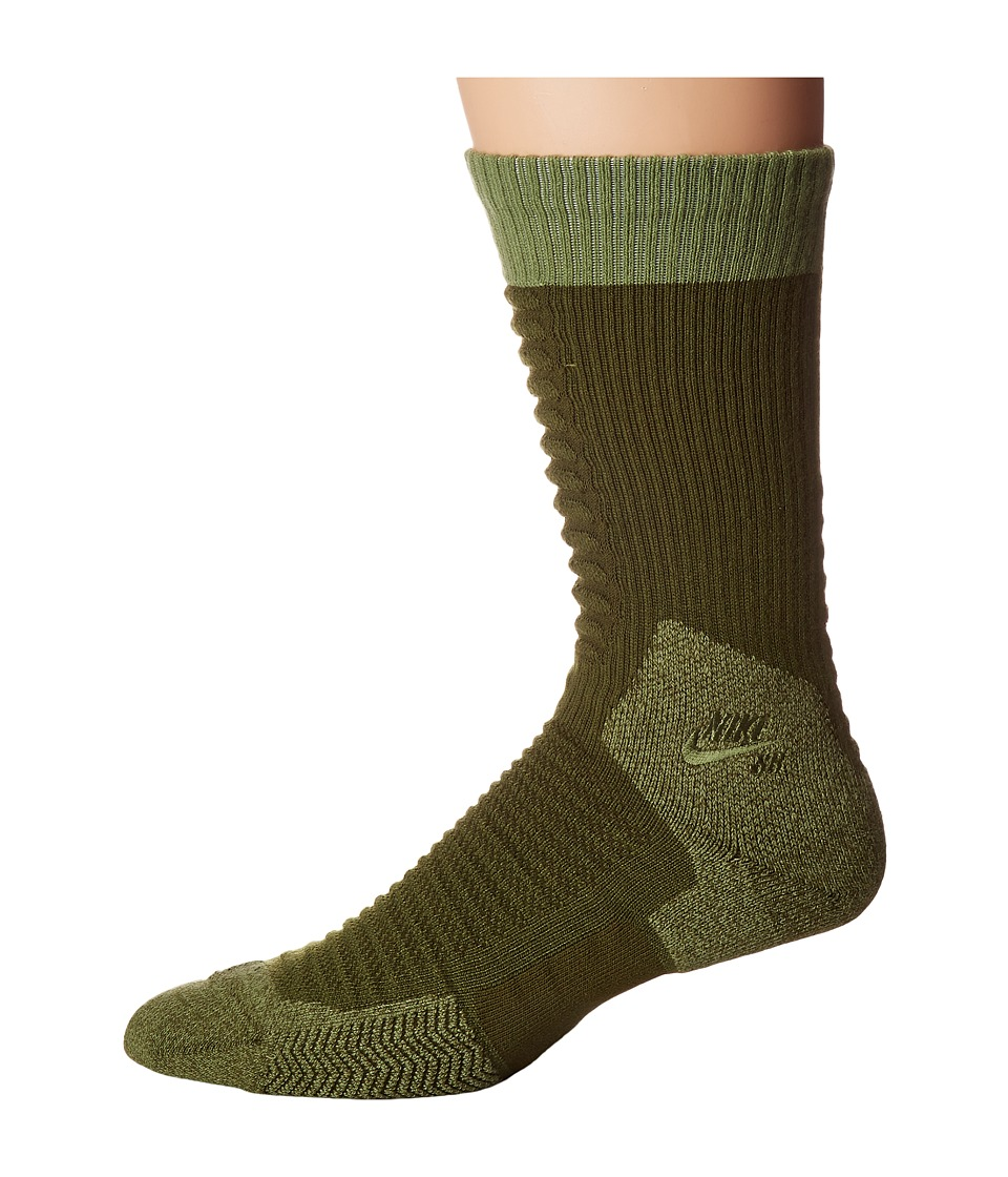 Nike SB - Skate Crew 2.0 Sock (Legion Green/Palm Green/Palm Green) Crew Cut Socks Shoes