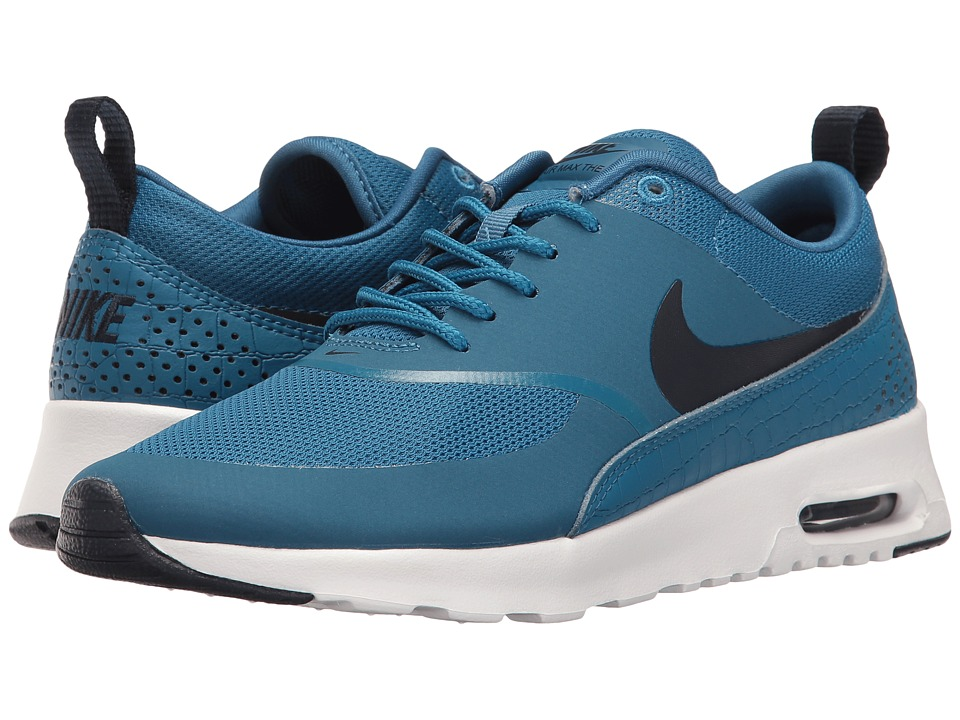 Nike - Air Max Thea (Industrial Blue/White/Obsidian) Women's Shoes