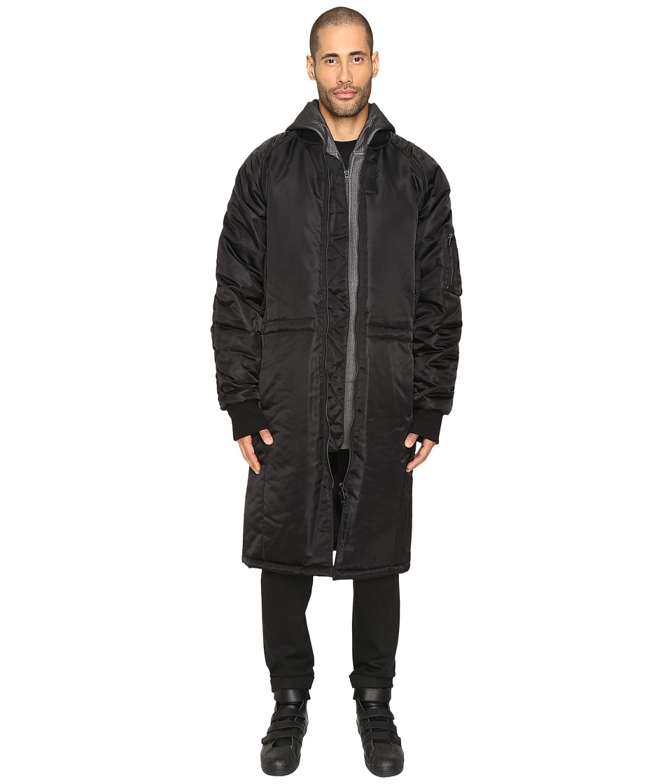 DBYD - Long MA-1 Jacket (Black) Men's Coat