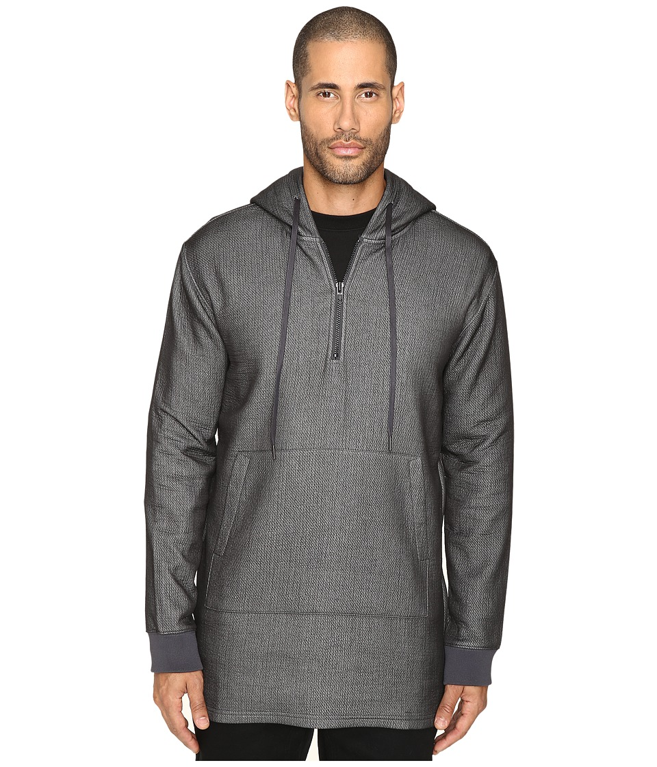 DBYD - Front Pocket Hoodie (Grey) Men's Sweatshirt