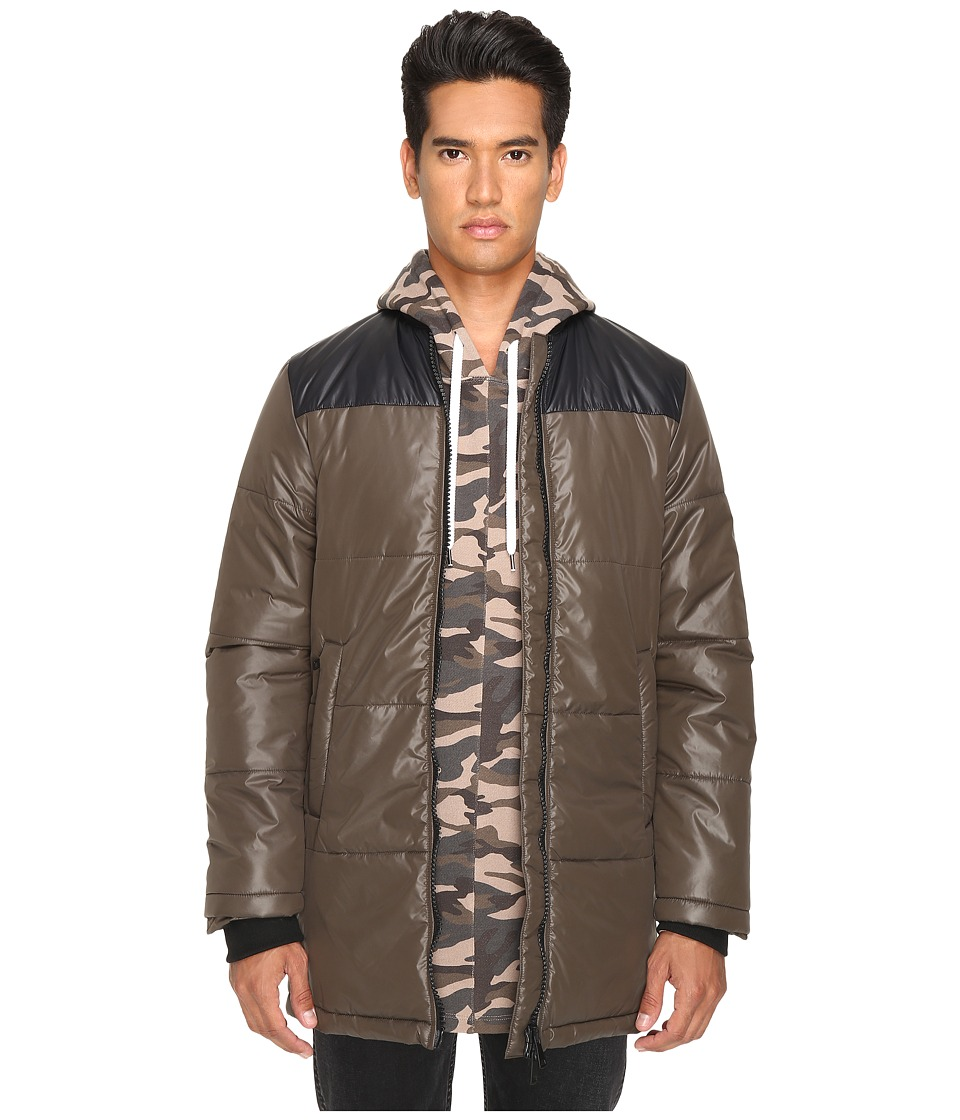 Pyer Moss - Down Bomber (Army) Men's Coat