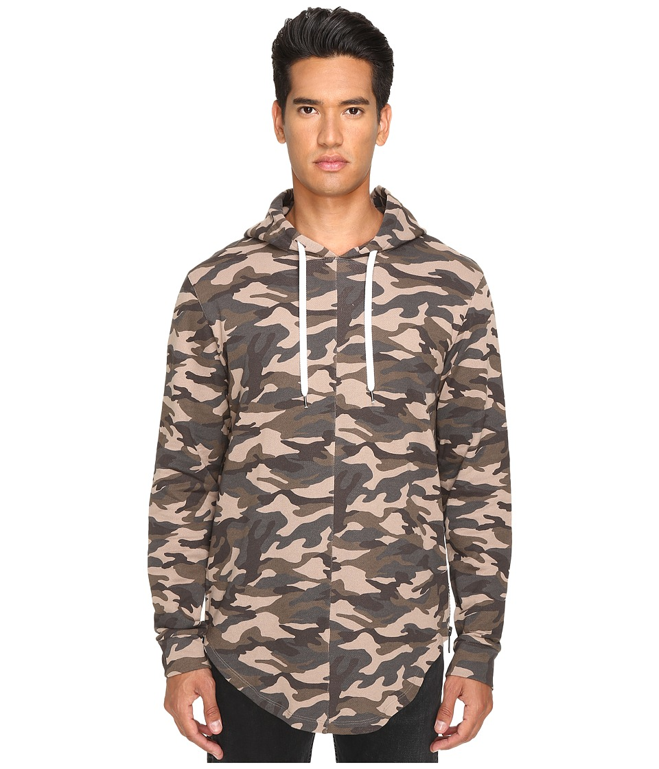 Pyer Moss - Out In The Open Hoodie (Camo) Men's Sweatshirt