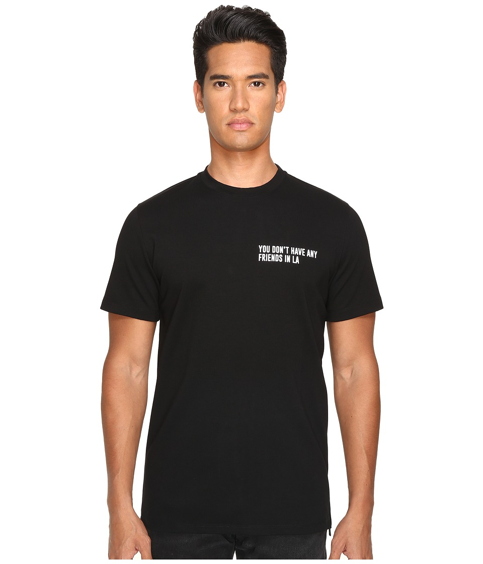 Pyer Moss - No Friends Tee (Black) Men's T Shirt