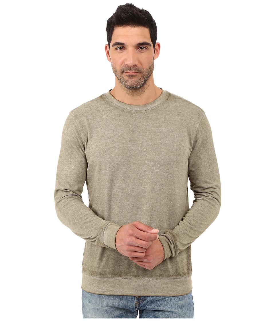 Threads 4 Thought - The Andrew Burnout Crew (Forest) Men's Sweatshirt