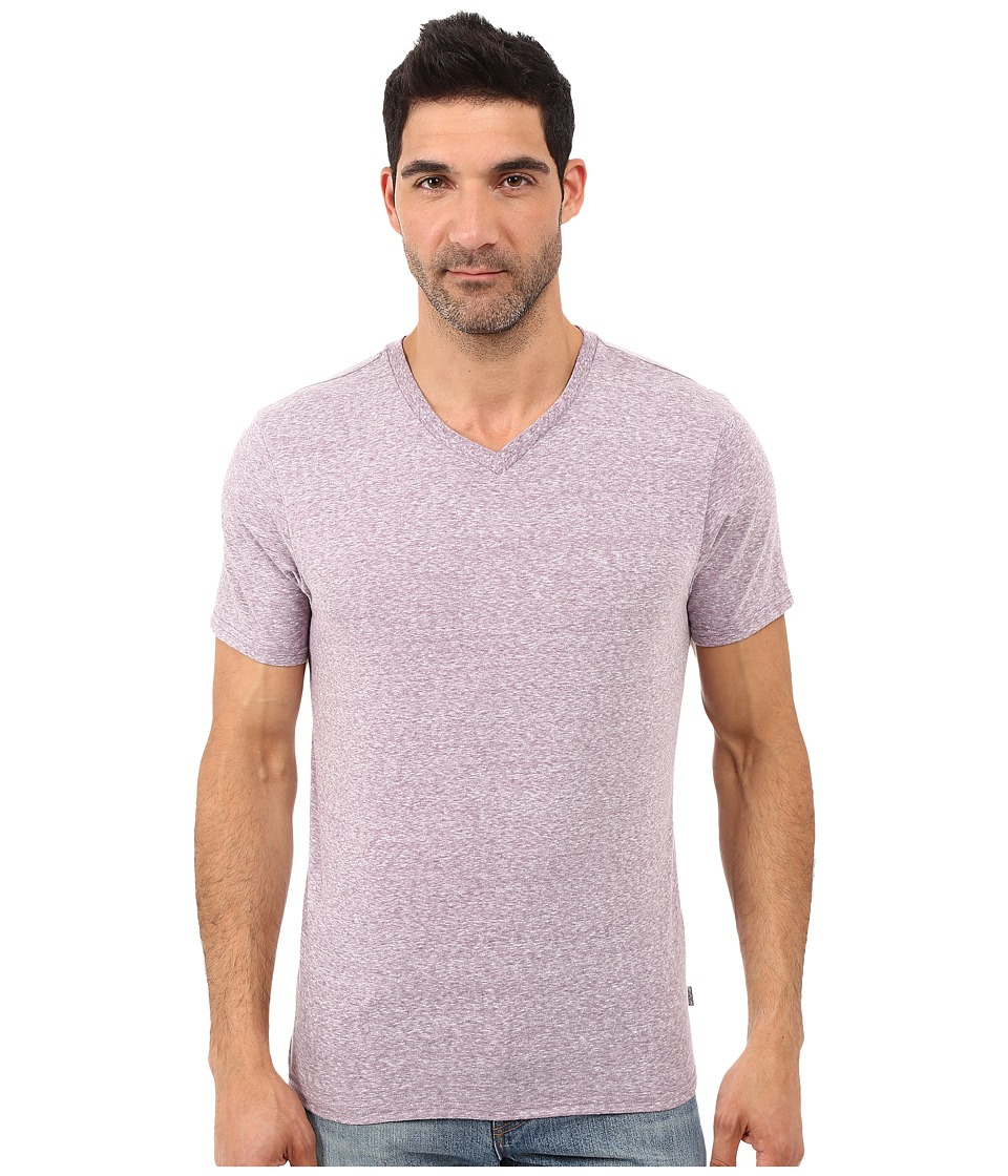Threads 4 Thought - Baseline Tri-Blend V-Neck Tee (Lavender) Men's T Shirt